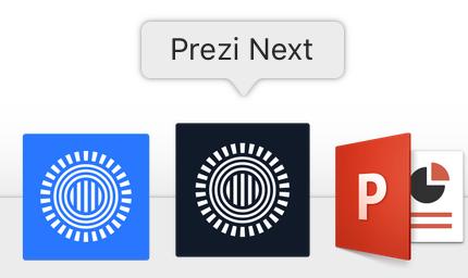 Design Prezi Next