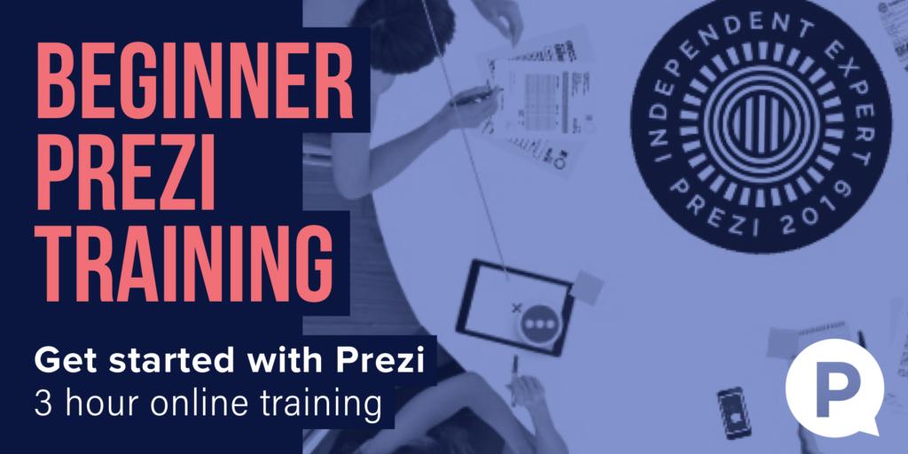 Prezi training online